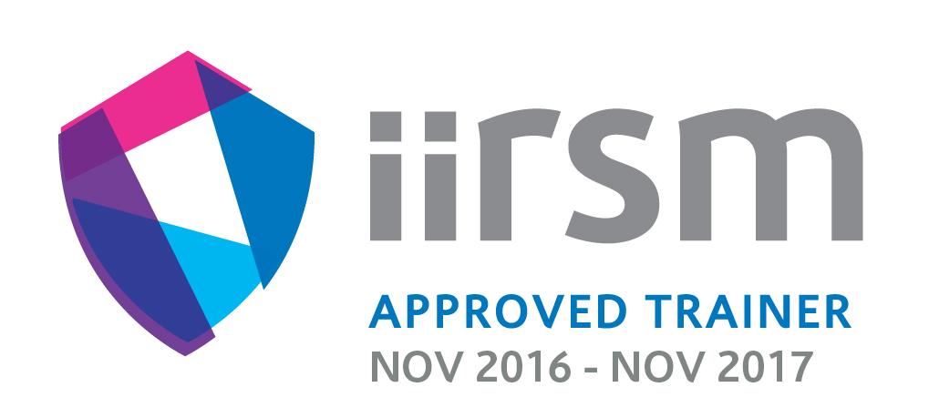 iirsm Approved Trainer November 2016 - November 2017